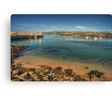 Peel Bay on a Summer's Day Canvas Print