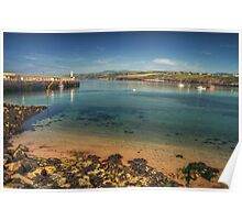 Peel Bay on a Summer's Day Poster