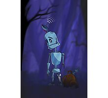Searching robot Photographic Print