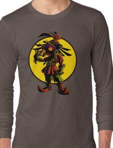 Zelda Majoras Mask Skull Kid  Long Sleeve T-Shirt