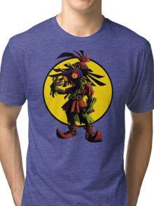 Zelda Majoras Mask Skull Kid  Tri-blend T-Shirt
