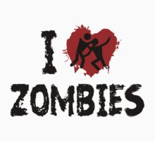 I Love Zombies by BrightDesign