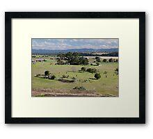 Historic Glebe Cemetery, East Maitland, NSW Framed Print