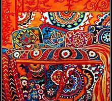Big Iron bed by Linda Arthurs