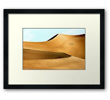 Dune Perfection Framed Print