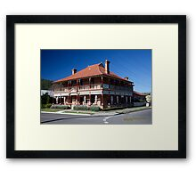 CBC B & B and Cafe, Paterson, NSW Framed Print