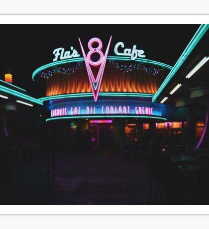 Flo's Cafe Sticker