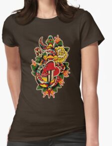 Spitshading 032 Womens Fitted T-Shirt