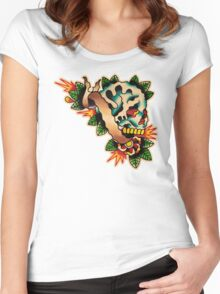 Spitshading 043 Women's Fitted Scoop T-Shirt