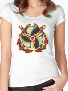 Spitshading 045 Women's Fitted Scoop T-Shirt