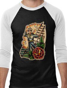 Spitshading 048 Men's Baseball ¾ T-Shirt