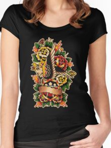 Spitshading 051 Women's Fitted Scoop T-Shirt