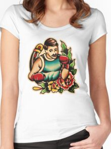 Spitshading 055 Women's Fitted Scoop T-Shirt