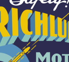 Richlube Vintage Motor Oil Sticker