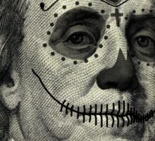 Day of the Dead Presidents  Sticker