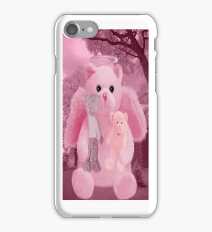 ☀ ツHUGS AND AFFECTION FROM A BEARY SPECIAL ANGEL IPHONE CASE☀ ツ  iPhone Case/Skin