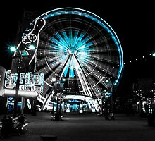 Big Wheel - Blue by Elowrey