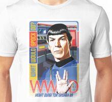 What would Spock do? Star Trek. Unisex T-Shirt