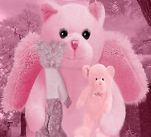 ❀◕‿◕❀HUGS,A KISS AND AFFECTION FROM A BEARY SPECIAL ANGEL CARD/PICTURE❀◕‿◕❀ by ✿✿ Bonita ✿✿ ђєℓℓσ