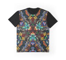 Abstract Design Full of Colors Graphic T-Shirt
