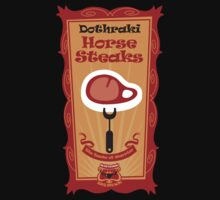 Big Bob's BBQ - Dothraki - Horse Steaks by satansbrand