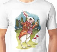 The White Rabbit - Being late Unisex T-Shirt