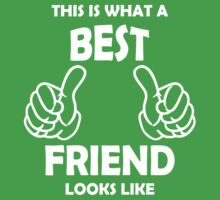 This is what a Best Friend Looks Like T Shirts by cerenimo