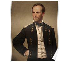 General William Sherman Poster