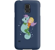 Aquaman and His Trusty Steed Samsung Galaxy Case/Skin