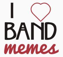 I ♥ Band Memes One Piece - Long Sleeve