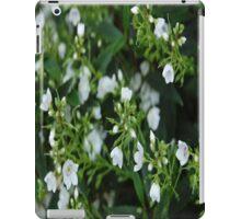 White And Green iPad Case/Skin