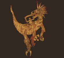 Clockwork Velociraptor by Dancing In The Graveyard