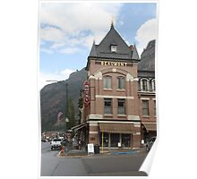 Beaumont Hotel in Ouray CO Poster