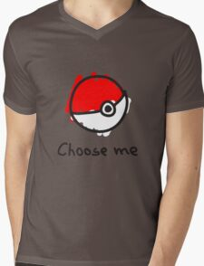 Choose me Mens V-Neck T-Shirt