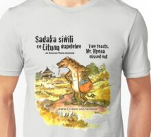 Mr. Hyena, Two Sadakas - black text Unisex T-Shirt