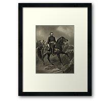General Grant On Horseback Framed Print