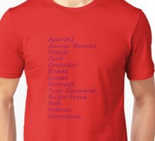 Hannibal Season 1 Episode List Tee Unisex T-Shirt