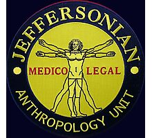 Jeffersonian logo-Bones Photographic Print