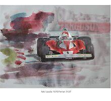 Niki Lauda 1976 Ferrari 312T by Lightrace