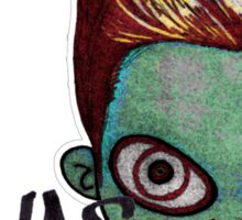 Zombie Jonas Sticker