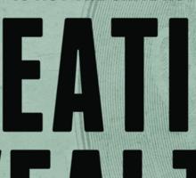 Creating Wealth Sticker