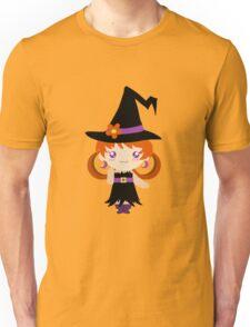 Little Witch Girl Unisex T-Shirt