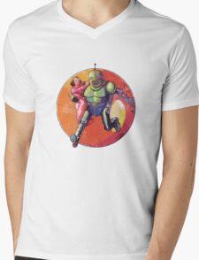 Damsel in Distress 2 Mens V-Neck T-Shirt