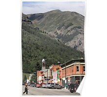 Silverton, Colorado Street Scene Poster