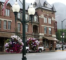 Street in Ouray, Colorado by Liane6161