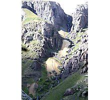 Streaming Waterfall Photographic Print