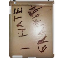 """I hate graffiti"" iPad Case/Skin"
