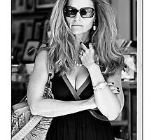 Maria Shriver - Subtle Beauty by Ron Dubin