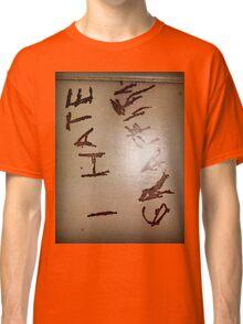 I Hate Graffiti Classic T-Shirt
