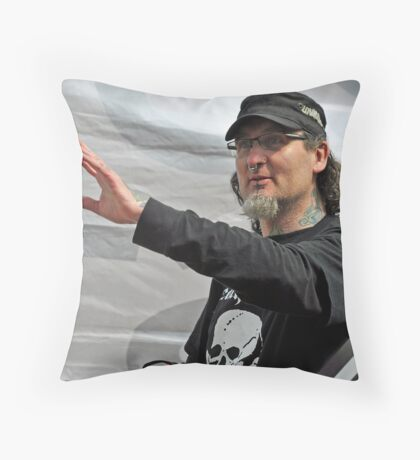 freedom of protest Throw Pillow